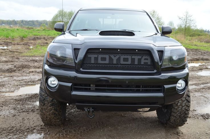 "2005-2011 Toyota Tacoma 3 Piece Raptor Style mesh insert for grill (Includes all models) Includes: 2 Triangle mesh pieces 1 center mesh Letters available ""T,O,Y,A,C,M,R,D"" Features: 100% Brand new never used or installed Powder coated matte black a durable long lasting finish Made from Aluminum C.N.C. cut for perfect fitment INSTALLATION: This product requires assembly and installation. Any damage during installation will not be refunded. Installation instructions are not inclu..."