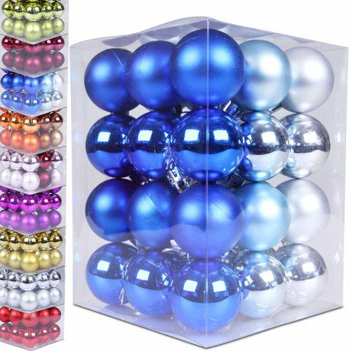 Jago WNKG01 Set of 36 Christmas Baubles DIFFERENT COLOURS DIFFERENT SIZES (Blue/Light blue/Silver, 1 in) Jago http://www.amazon.co.uk/dp/B00H481UKA/ref=cm_sw_r_pi_dp_1l7zub0MPYGZJ