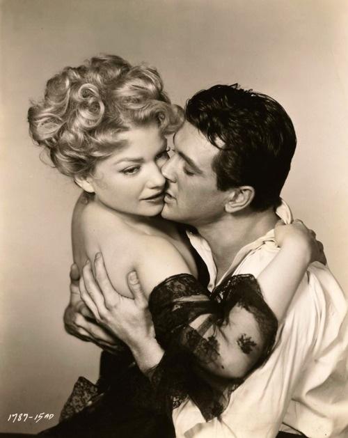 ONE DESIRE (1952) - Anne Baxter & Rock Hudson - Universal-International - Publicity Still.