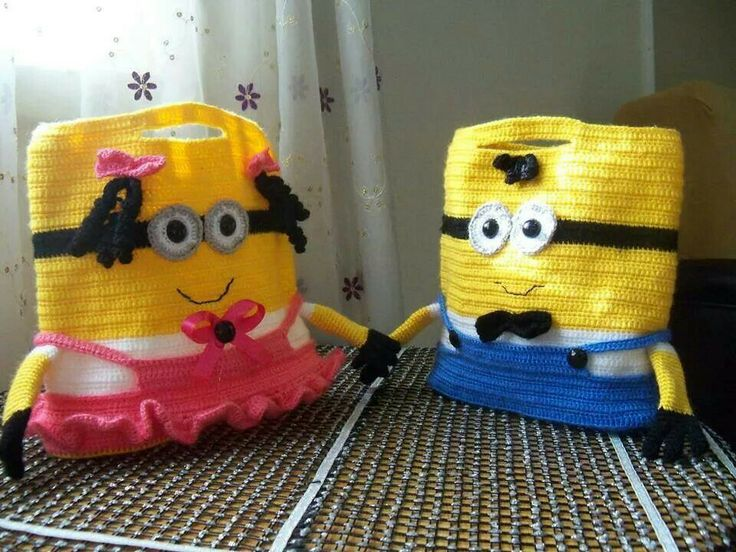 Free Amigurumi Minion : 109 best crochet minions images on pinterest crochet minions