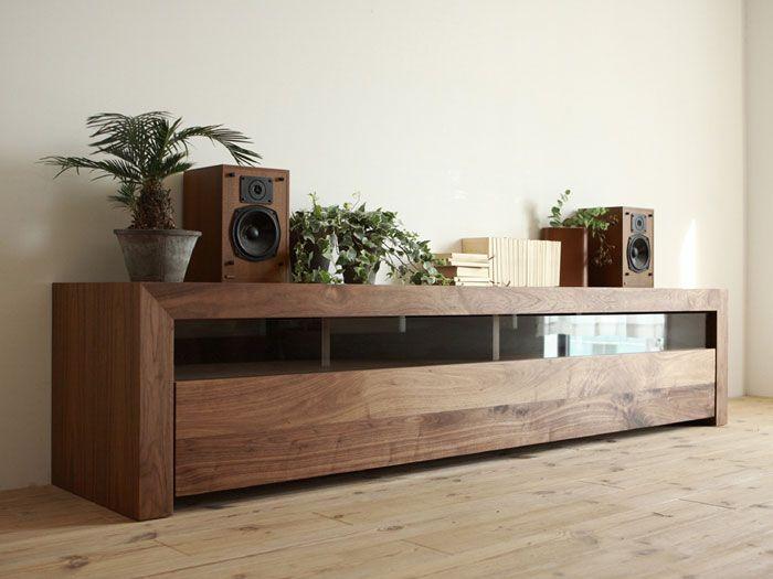 we need these in the uk :) ANIMA TV board (walnut) - Hiromatsu online shop