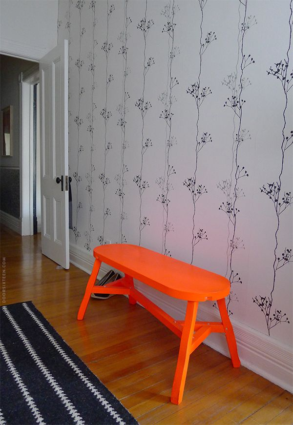 neon furniture. that wall it would be so cool to paint the a matte and use bright painted furnitureneon neon furniture