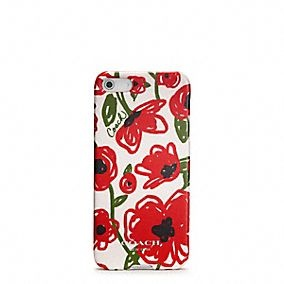 OMG, I want this for Chanukah!  POPPY FLORAL IPHONE 5 CASE