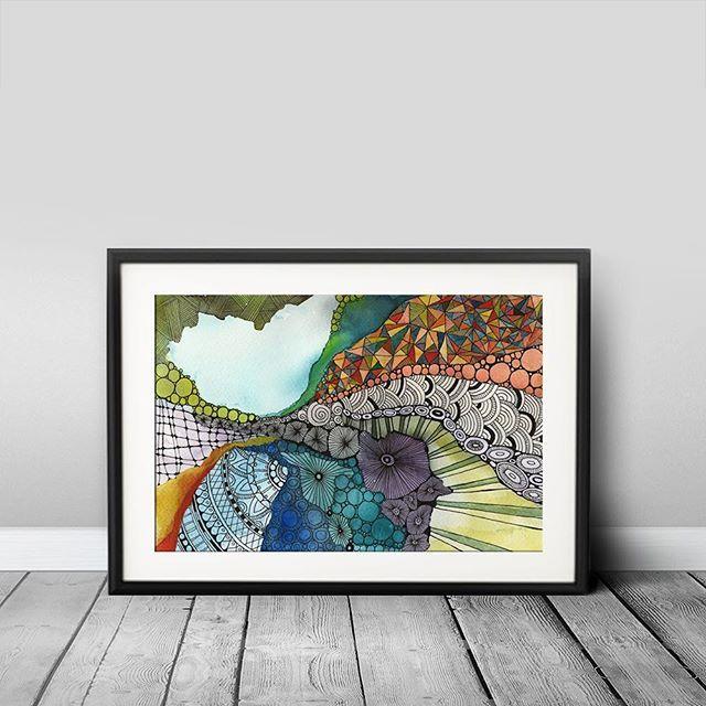 Abstract  15x23cm www.facebook.com/AnnaLipowskaArt (2016)  #akvarell #linework #micronpen #doodle #abstract #interior #penart #decor #poster #daily_art #sketch #акварель #aquarelle #illustration #drawing #watercolor #painting #ink #art #artwork #ilustrator #artist #arte #scandinaviandesign #modernart #zenart #colorful