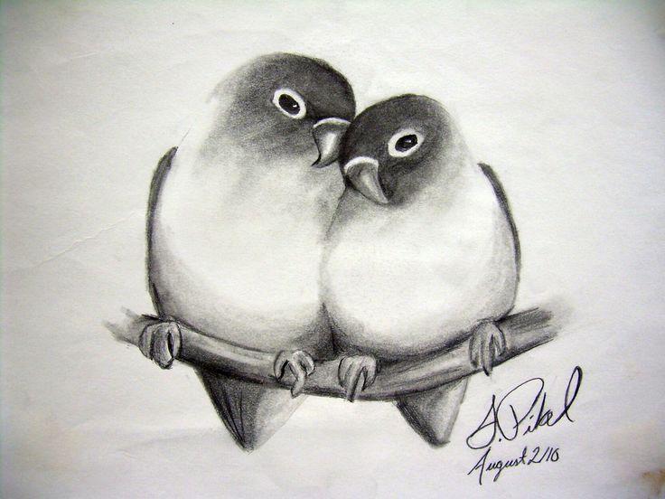 Картинки нарисованые про любовь
