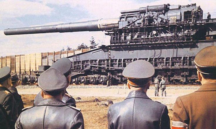 El Cañón Dora; la pieza de artillería mas grande