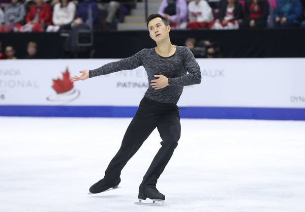 Patrick Chan Photos Photos - Patrick Chan of Canada competes in the Men's Singles Free Program during day two of the 2016 Skate Canada International at Hershey Centre on October 29, 2016 in Mississauga, Canada. - 2016 Skate Canada International - Day 2