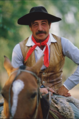 Gaucho. Vaquero Argentino.