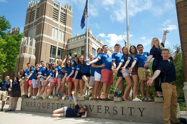 10 Lessons You Learn Being An Orientation Leader - my people, my school. http://theodysseyonline.com/marquette/10-lessons-you-learn-when-youre-an-orientation-leader/150420