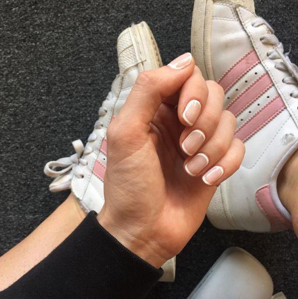 Best 25+ Minimalist Nails Ideas On Pinterest