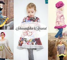 Freebook - Kleidchen für kleine und große Mädchen