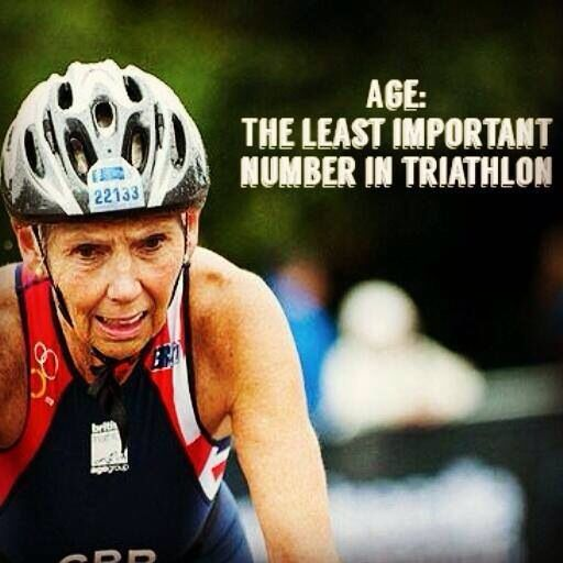 One of the reasons I love triathlon so much. You just get better with age if you train hard!