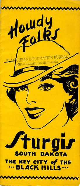 1950's Sturgis South Dakota Travel Brochure
