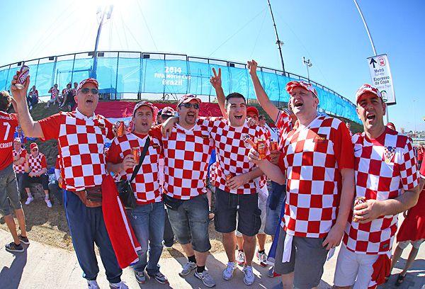 """FIFA Mafia, FIFA Mafia"" - Croatian fans chanting at the World Cup stadium VIDEO   Soccer with Chris"
