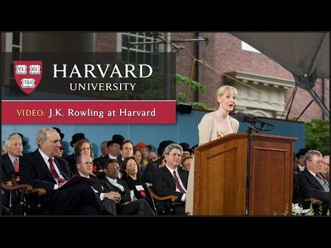 Text of J.K. Rowling's speech |  Harvard Gazette