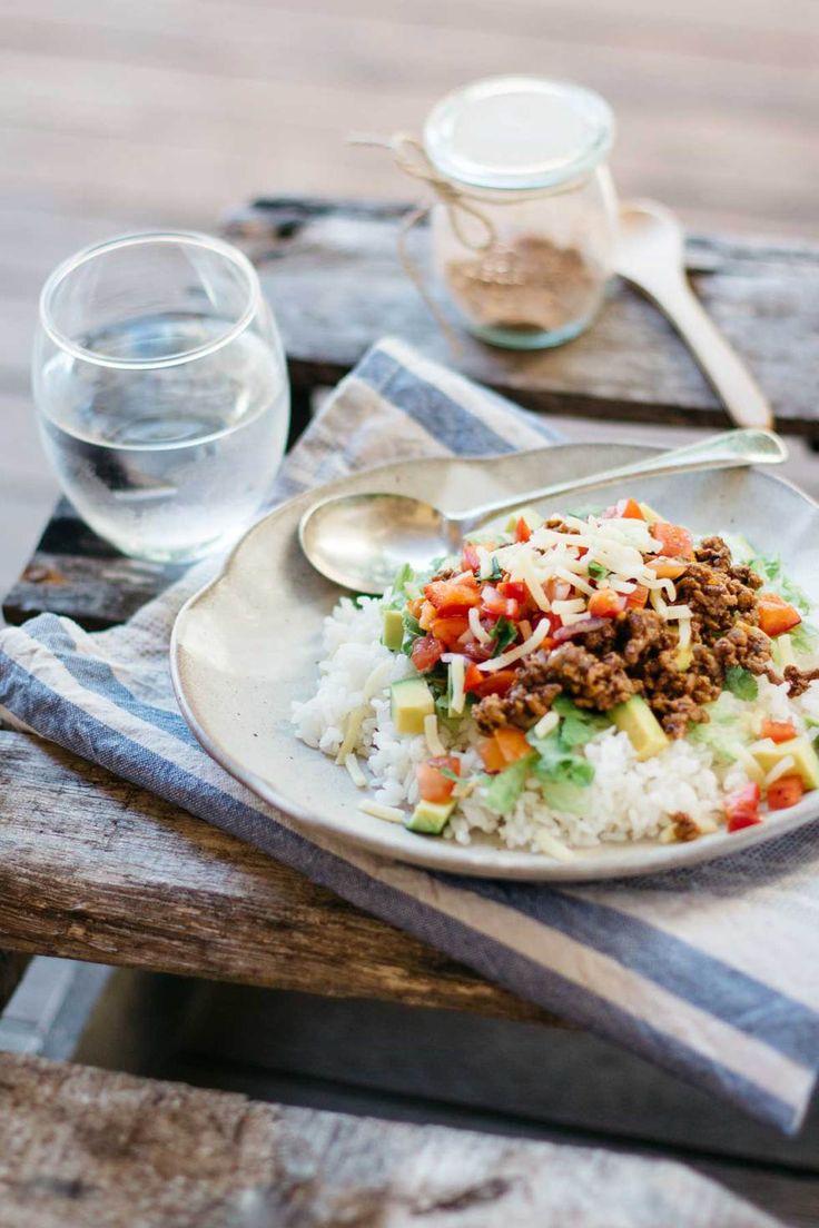 Okinawa Taco Rice 沖縄タコライス