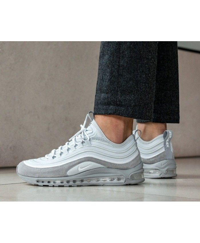 d9131593760 Nike Air Max 97 Ultra'17 SE Pure Platinum White Wolf Grey Trainers ...