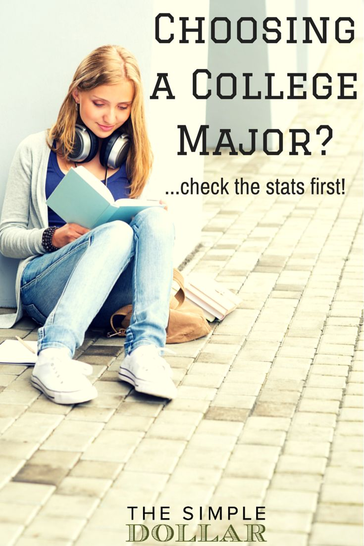 There's more that goes into choosing a college major than you think! Make sure you make the right choice... Read more at http://www.thesimpledollar.com/choosing-a-college-major-check-the-stats/