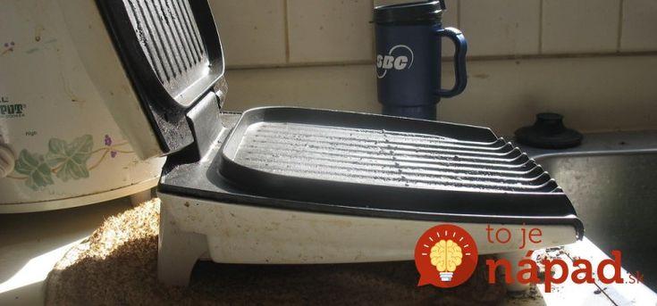 Ako vyčistiť toastovač či elektrický gril bez drhnutia?Pomôže jednoduchý trik!