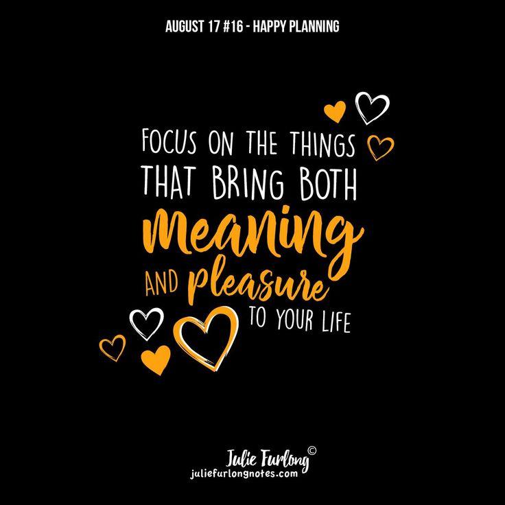 Appreciate simple pleasures and focus on them.  #stayfocused #prioritise #choosehappy #creativelifehappylife #creativelife #lifequotes #quotes#inspirationalblog #wordsofwisdom #juliefurlongnotes