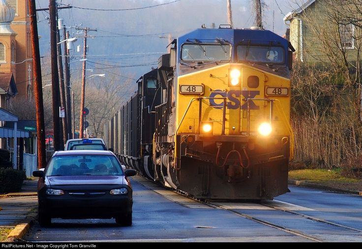 RailPictures.Net Photo: CSXT 48 CSX Transportation (CSXT) GE AC4400CW at West Brownsville, Pennsylvania by Tom Granville
