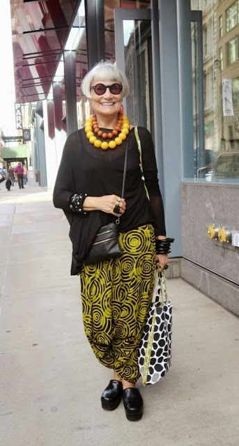 """Gran- 68 years old- 5'2"""" Her style is quirky as she is quite an eccentric woman. She doesn't act her age however she can be very frail when she needs to."""