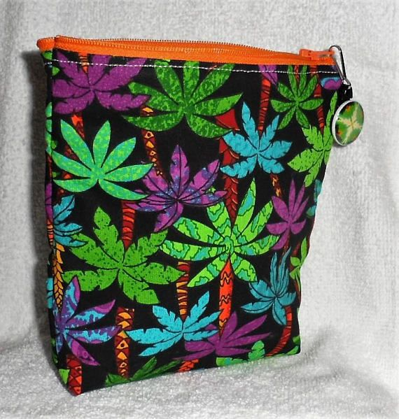 Small Zippered Pouch/Useful for