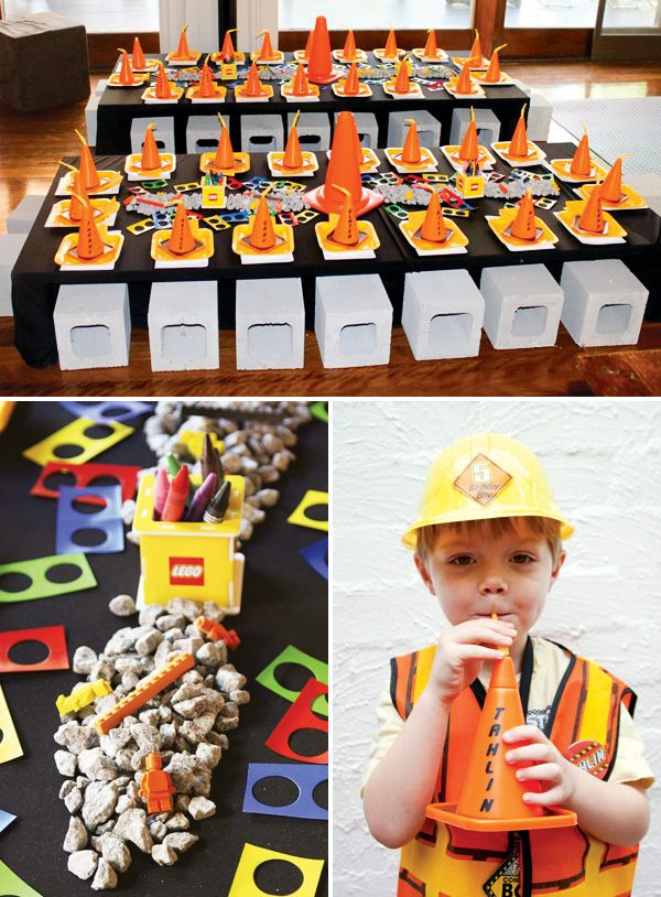 AMAZING Lego Construction Party