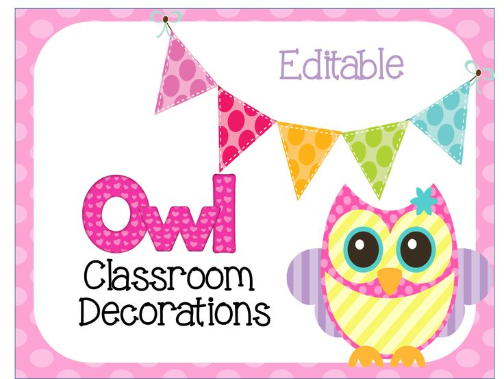 Owl Classroom Rules Poster Template Apa classroom poster purdue