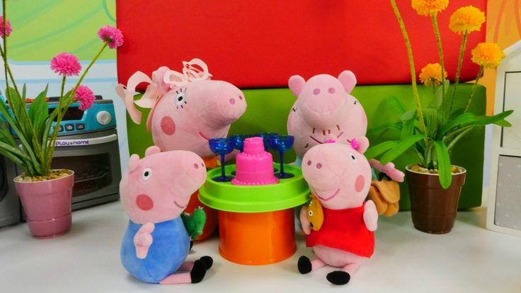 Игры для девочек: Свинка Пеппа КАК Мама Свинка идет в САЛОН КРАСОТЫ. Вид...