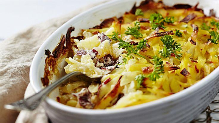 Savuporokiusaus on helppo ja maukas ruoka esimerkiksi hiihtolomahetkiin.