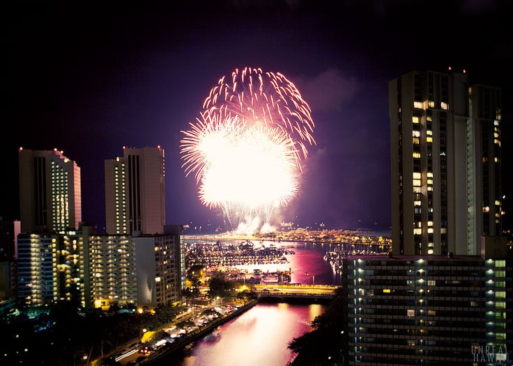 july 4th fireworks oahu