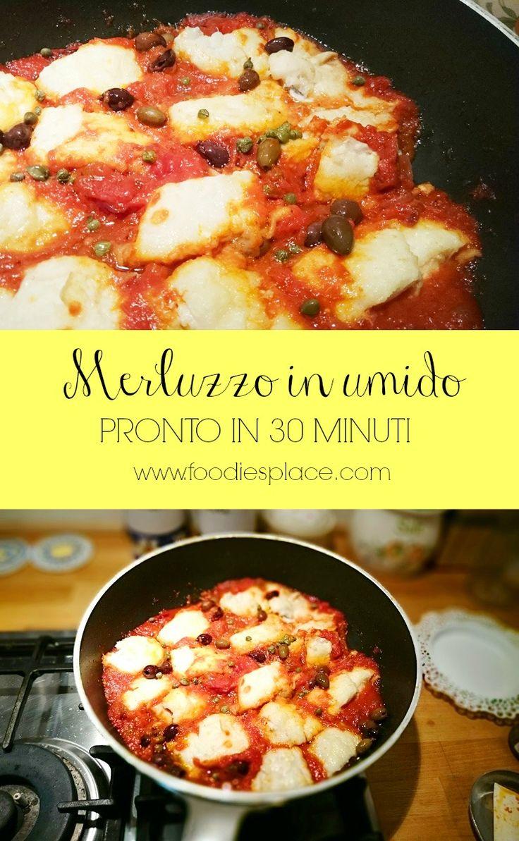 Come cucinare il merluzzo in 30 minuti e portare in tavola un super piatto molto Mediterraneo. Clicca per la ricetta e condividi se ti piace