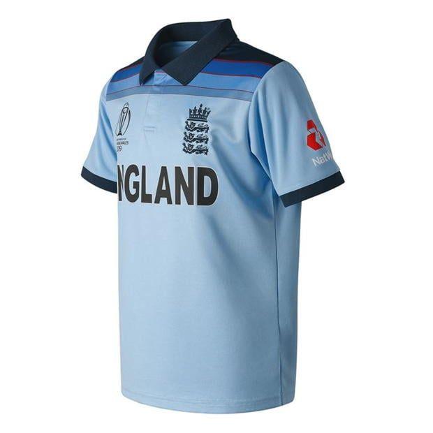 New Balance England Cricket Odi 2019 World Cup Winners Shirt Junior World Cup Winners England Cricket Shirt Shirts