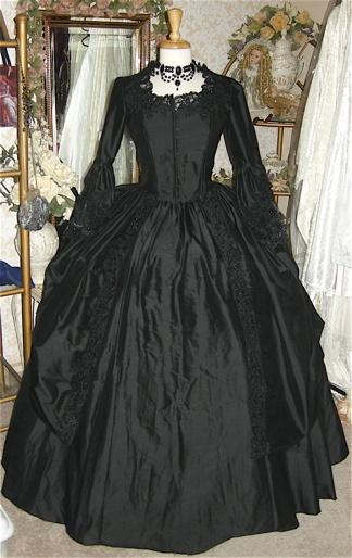 Gothic Wedding Gown-Steampunk-Victorian