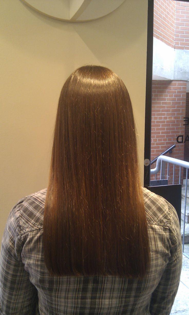 One Length Haircut Karen The Spa Day Retreat