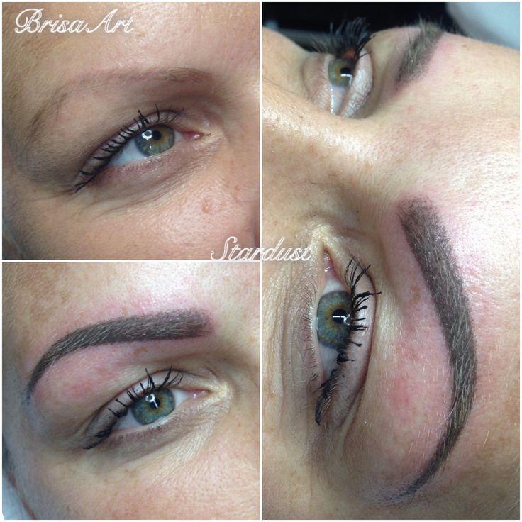 Stardust Powder Eyebrow•professional make-up tattoo•BrisaArt•permanentmakeup