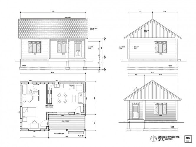 Best 20+ One bedroom house plans ideas on Pinterest One bedroom - one bedroom house plans