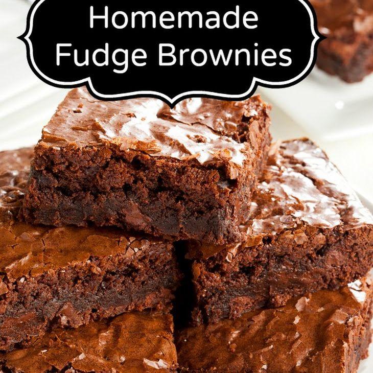 fudge brownie recipe desserts with margarine sugar medium eggs salt unsweetened cocoa powder