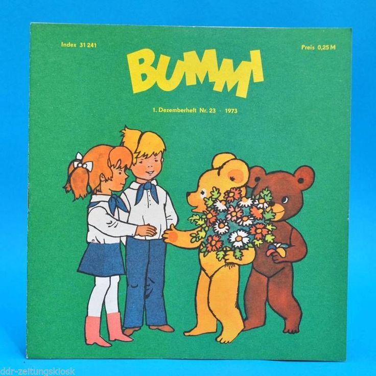 DDR Bummi 23/1973 Kinderzeitschrift