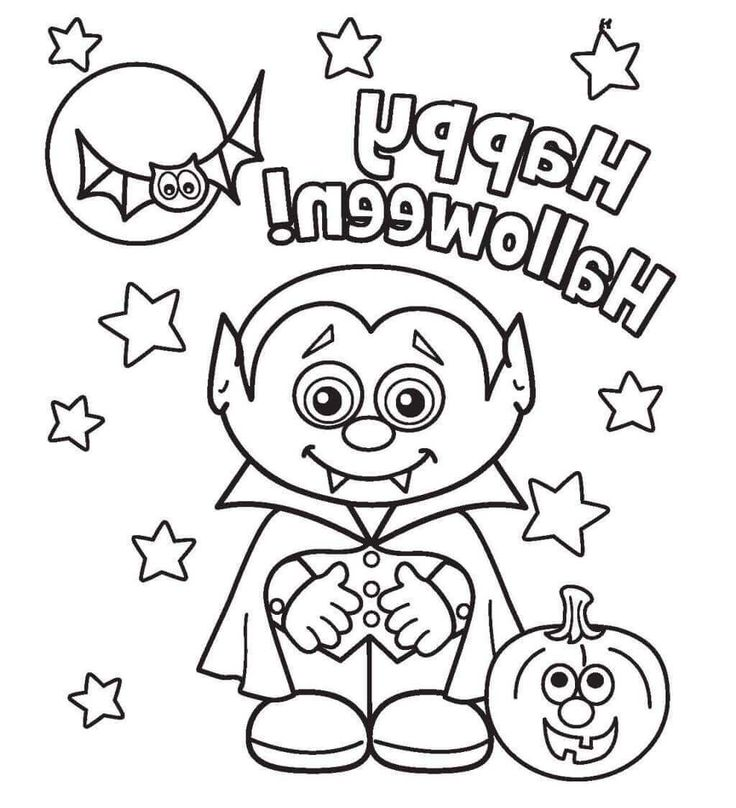 15 Best Halloween Coloring Pages Images On Pinterest Colouring Coloring Things