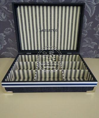 Caixas Organizadoras - Para 12 Óculos com subcaixa (0001OC), para Bijus (0029G BJ), Costura (0004CO) e Relógios Masculina (0013RL) - Tudo em Caixas