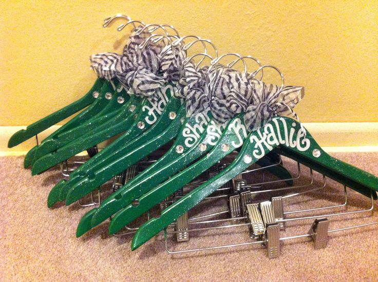 Kelly green and silver bling for a competitive cheer squad in Gretna, NE