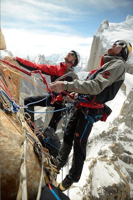 Mammut Peak Project - David Lama on Trango Tower by mammutphoto, via Flickr