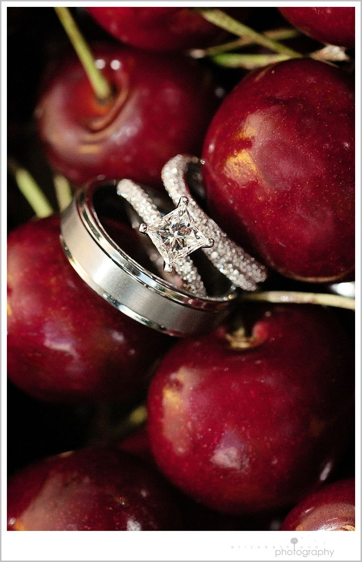 Wedding rings  #burgundy #maroon #wedding … Wedding #ideas for brides, grooms, parents & planners https://itunes.apple.com/us/app/the-gold-wedding-planner/id498112599?ls=1=8 … plus how to organise an entire wedding, within ANY budget ♥ The Gold Wedding Planner iPhone #App ♥ For more inspiration http://pinterest.com/groomsandbrides/boards/ #plum #oxblood #cranberry