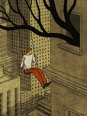 Toni Demuro Illustrations: tree 110 - So pretty and weird