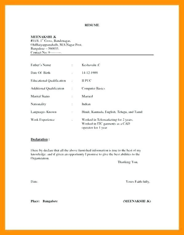 Bcom Fresher Resume Template Best Of Images Luxury Resume Sample Doc For Sample Resume Sample Resume Fo Resume Format In Word Basic Resume Simple Resume Format