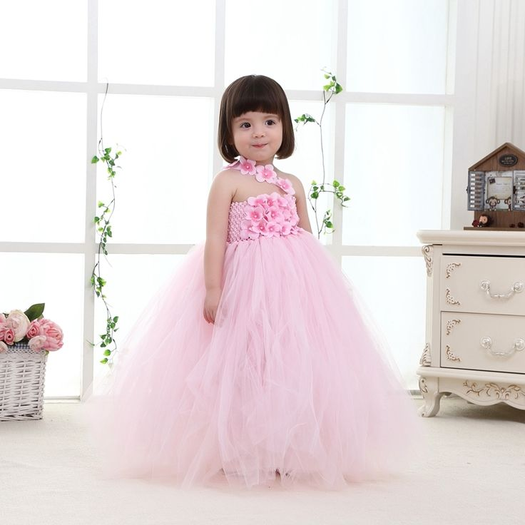 34.99$  Know more - http://ai41w.worlditems.win/all/product.php?id=32703469806 - 2017New High Quality Fashion Baby Pageant Dress Tutu Princess Pink Formal Infant Dresses For Weddings 1-10T Baby Girl Birthday