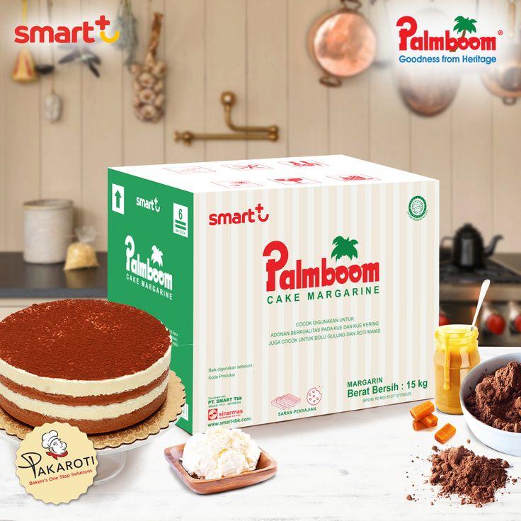 Ciptakan sponge cake berkualitas tinggi dengan tekstur lebih lembut dan rasa moist di lidah dengan Palmboom Cake Margarine. #TheLegacyOfPalmboom