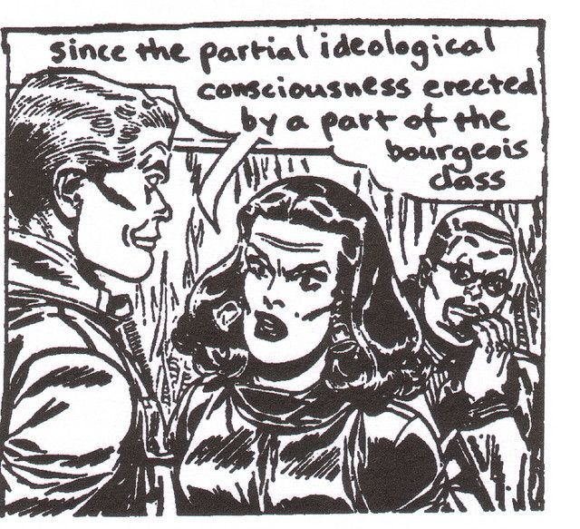 Situationist International comic, c. 1968. Resource: (n.d.). Retrieved from https://www.flickr.com/photos/didgebaba/sets/671958/